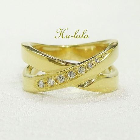 純金指輪リフォーム